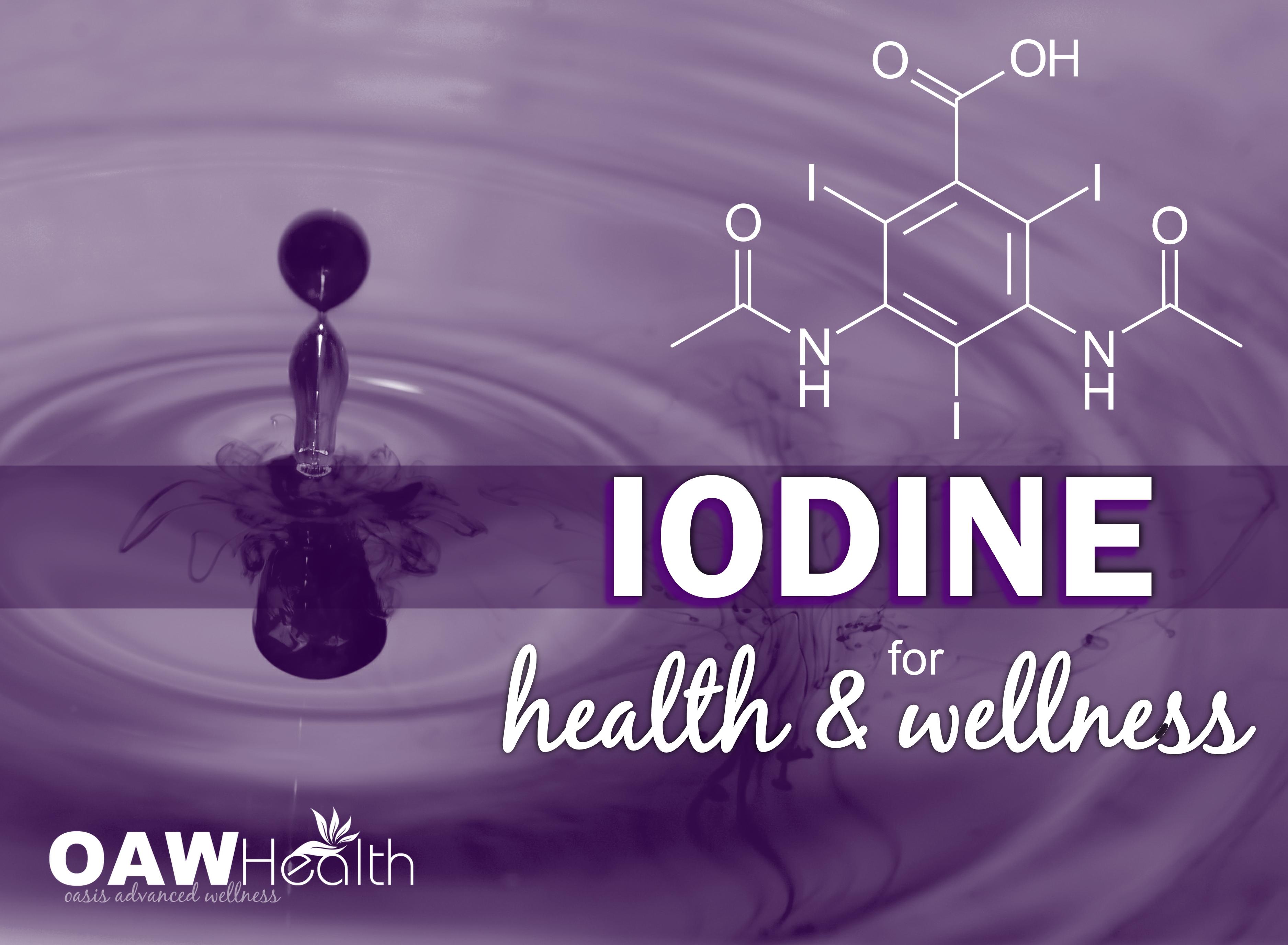 Iodine for Health and Wellness