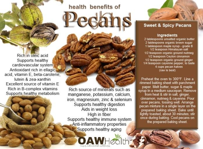 benefits of pecans