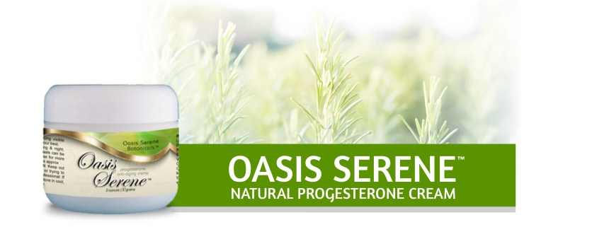 oasis serene progesterone cream