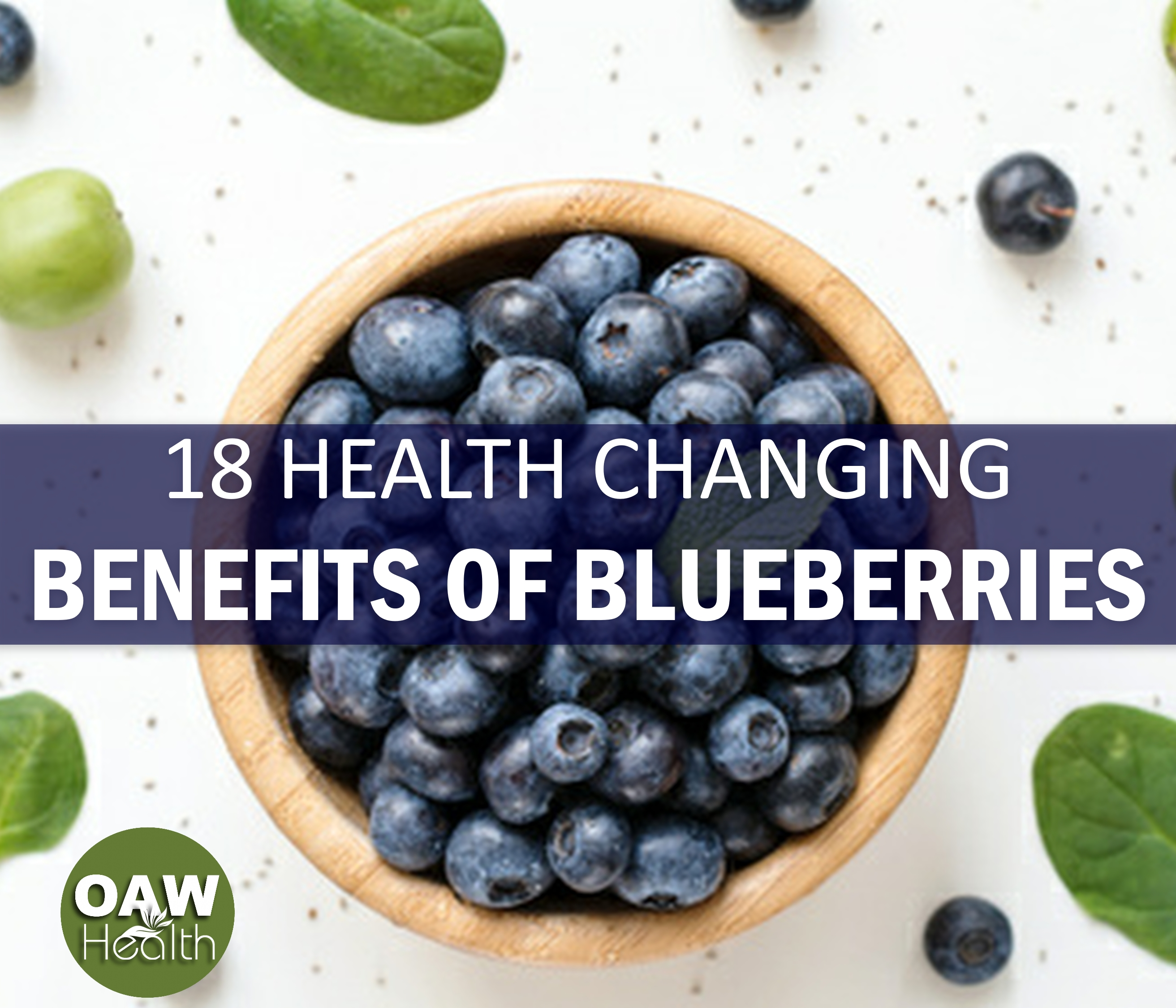 18 Health Changing Benefits of Blueberries