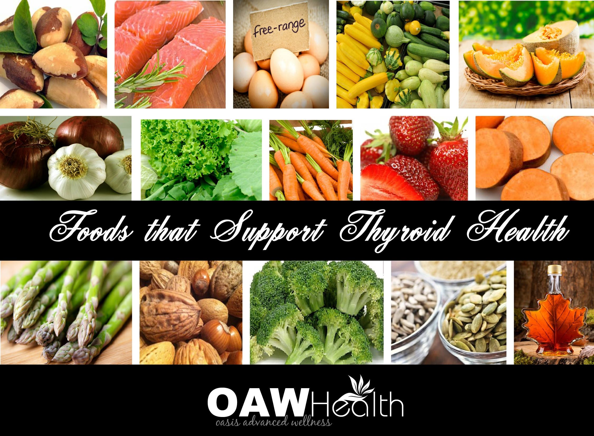 15 Foods that Support Thyroid Health