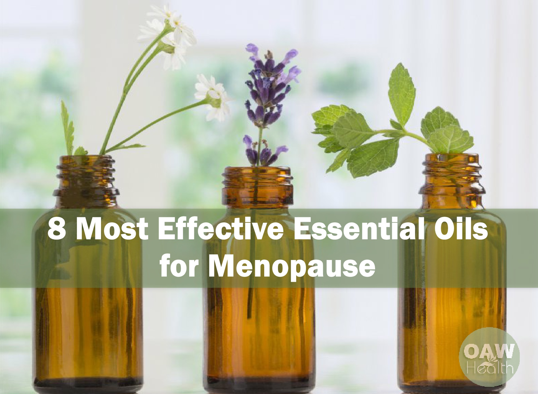 8 Most Effective Essential Oils for Menopause