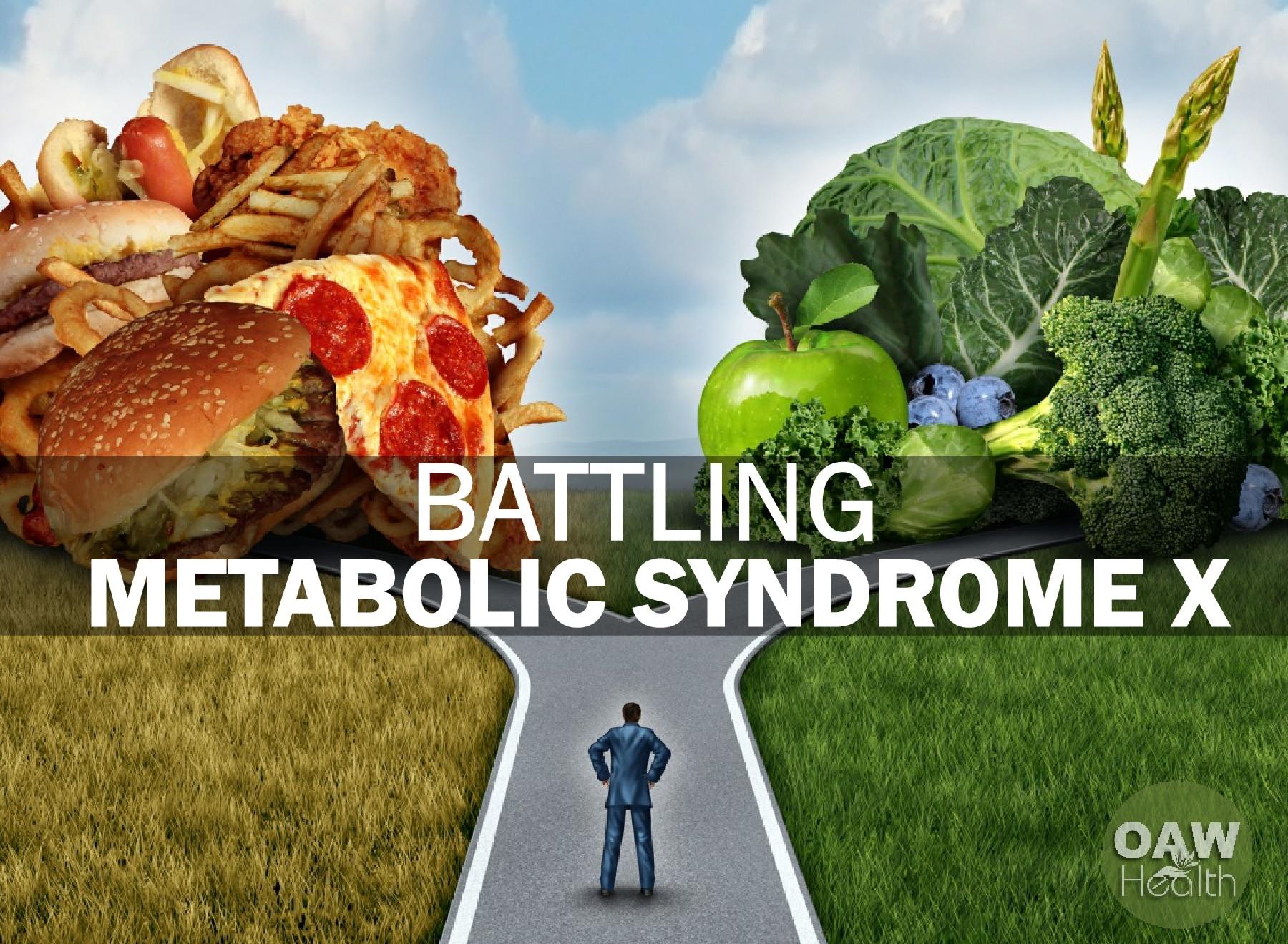 Battling Metabolic Syndrome X
