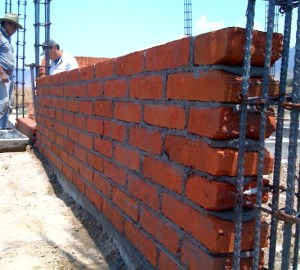 Casita Wall Detail
