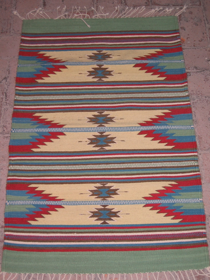 These Traditional Zapotec Mexican Rug Designs Capture The Beauty Of The  Landscape, Replicate The Stone Carvings On The Archeological Ruins Of The  Oaxaca ...