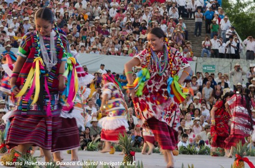 Dance of the Flor de Piña is one of the most popular at Guelaguetza