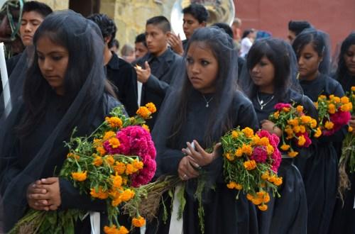 Procession, Dia de los Muertos