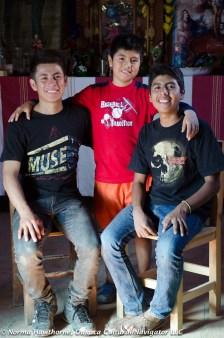 Three Brothers, Teotitlan del Valle, Oaxaca, Mexico