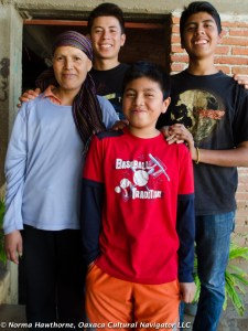 Lupita, Hugo, Cristobal and Danny