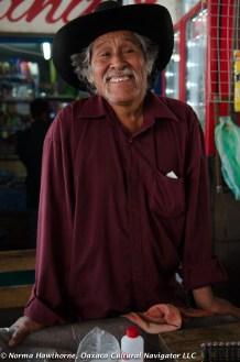 Herb Seller, Tlacolula Market, Oaxaca, Mexico