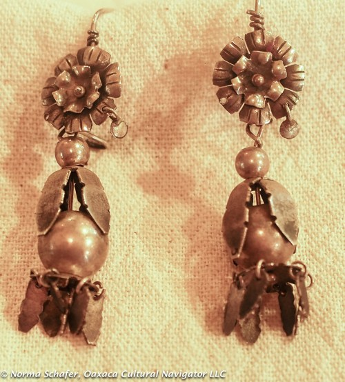 #10. Oaxaca famous maker squash blossom earrings, sterling silver. $95 USD.