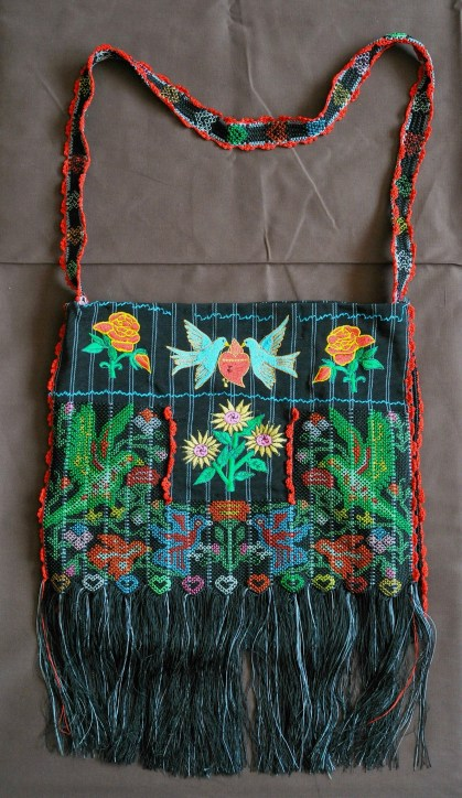Chatino shoulder bag, called a morral. Photo by Karen Elwell.