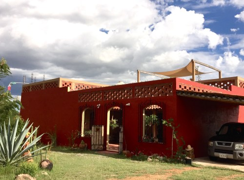 The casita where I live in Teotitlan del Valle, Oaxaca