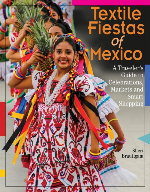 Textile Fiestas of Mexico, book cover