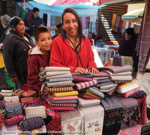 At the Sunday rebozo market, Tenancingo