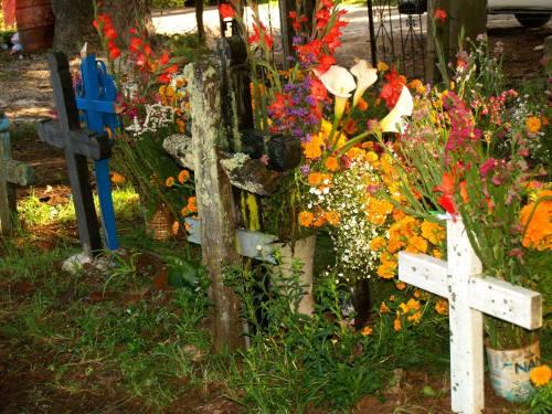 San Felipe, Chiapas cemetery, by Ann Conway