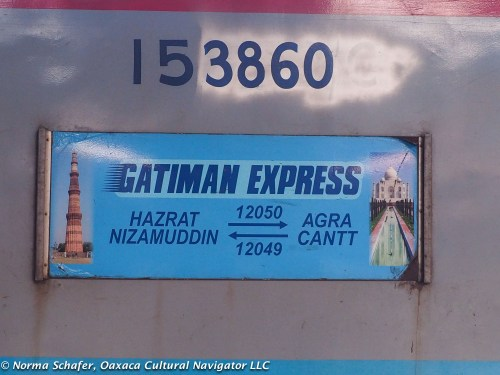 Gatiman Express, to Delhi from Agra in 1-1/2 hours.
