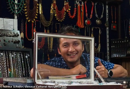 Tribal jewelry maker from Himachal Pradesh.