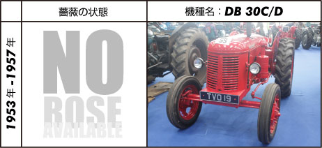 デビッド・ブラウン30C 1953 - 1957 David Brown 2.7L 4-cyl diesel 41 hp