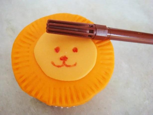 marcador para cupcake