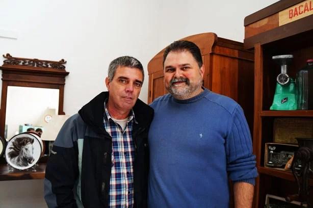 Eu e Ugo Gutierrez