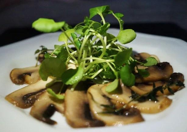Carpaccio de cogumelos 1