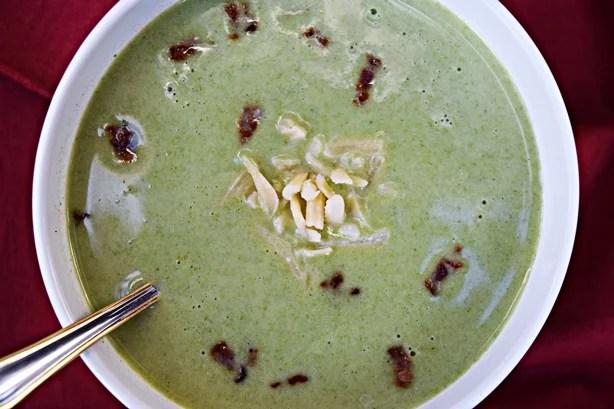 Sopa creme de espinafre