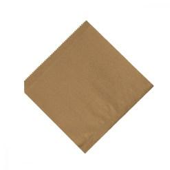 Papierové vrecká 16x16cm hnedé