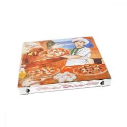 Krabica na pizzu 32,5 x 32,5 x 3 cm