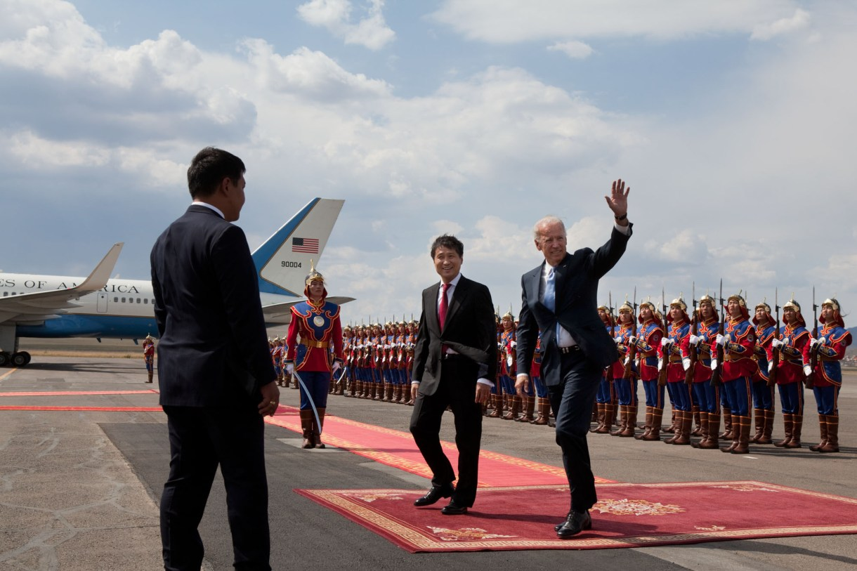 Vice President Joe Biden Visits Mongolia | The White House