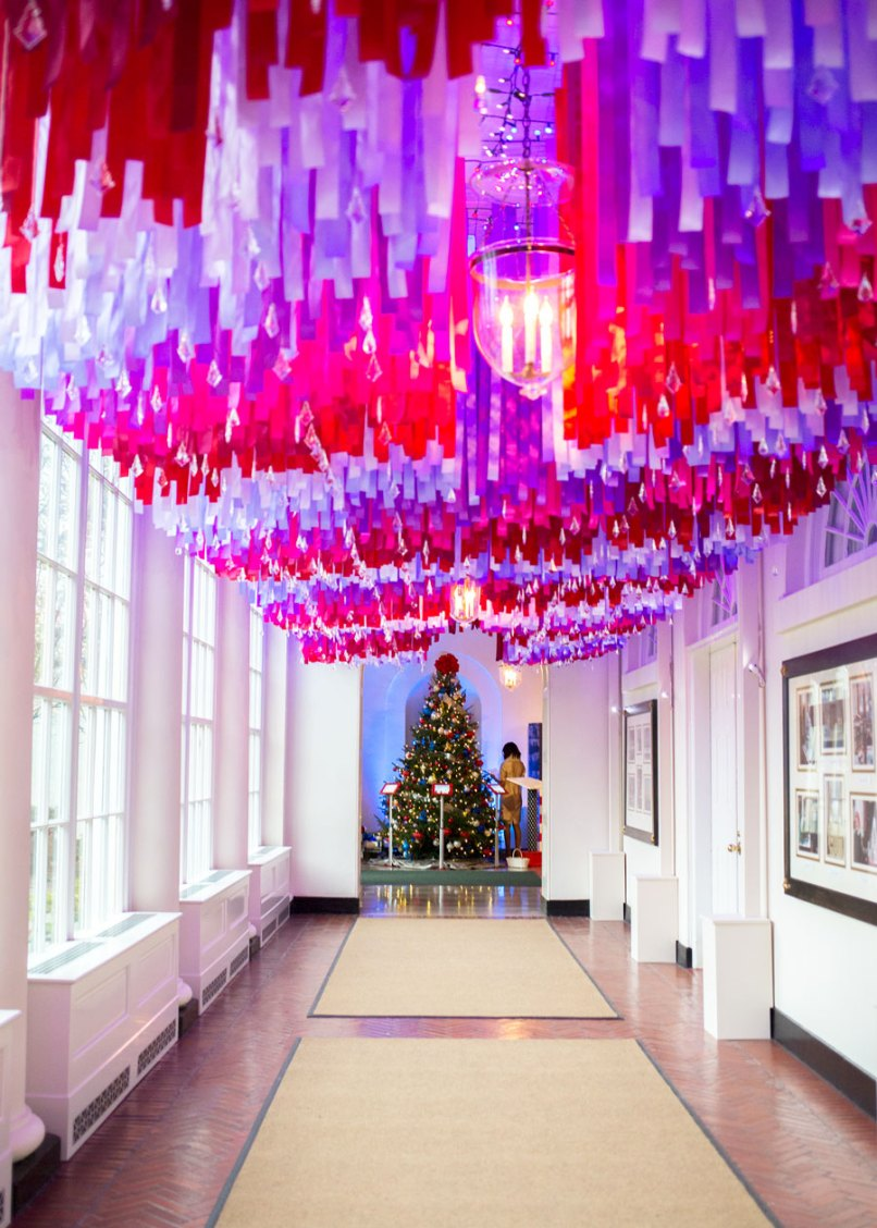 streamers from ceiling – my delicate dots portofolio