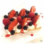 Sablé Chantilly Fruits Rouges - Crédit Photo : Mado & la Tête dans le Frigo