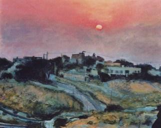 Sunrise Over The Holy Land
