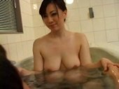 セックスがしたくて風呂場に乱入して性交する田舎の叔母さんがエロいオバチャンノ-パン