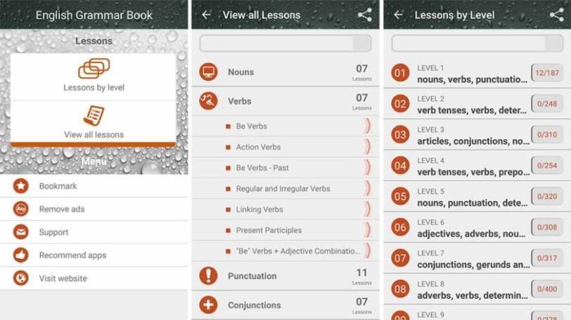 English Grammar Book - best grammar apps on mobile