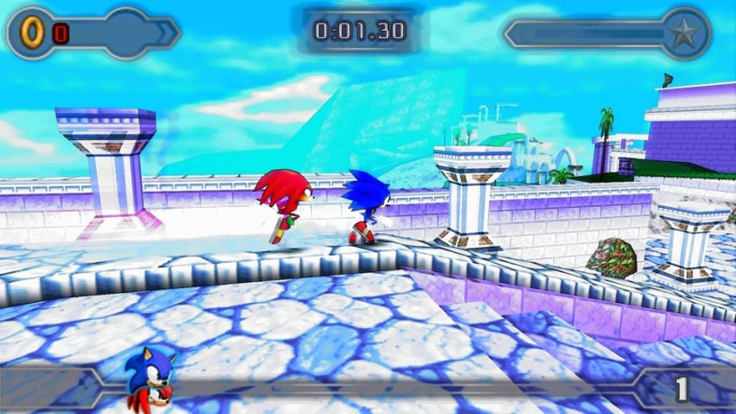 Sonic Rival 2 psp game
