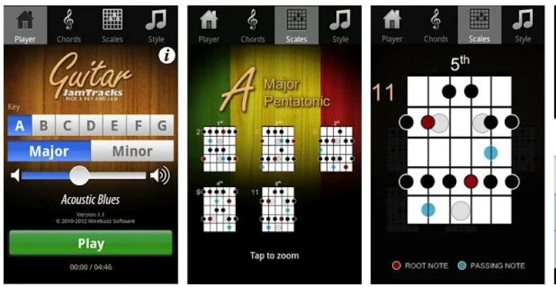 guitar apps for android