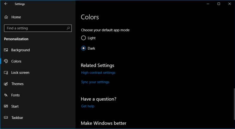 best dark themes for windows 10