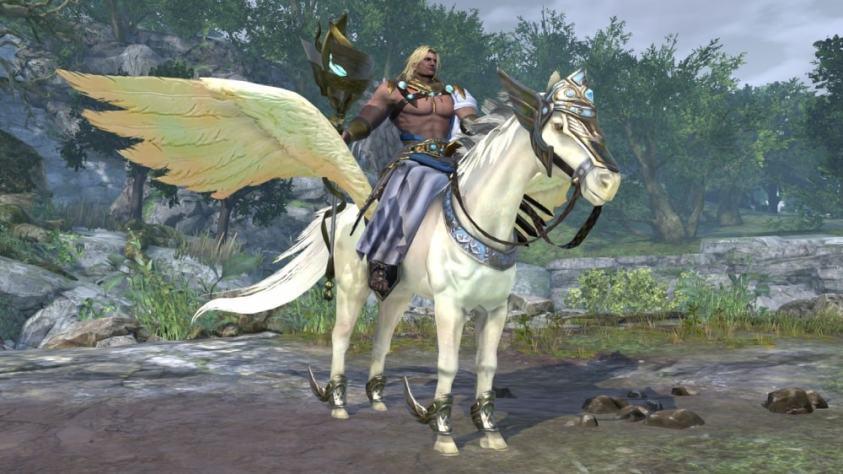 "Bonus Mount ""Pegasus""/WARRIORS OROCHI 4/Nintendo Switch/Nintendo"