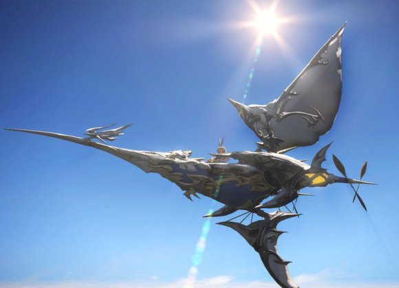 "Nilla on Twitter: ""Taking my Manacutter out for a flight :D #FFXIV ..."