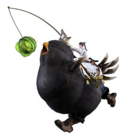 Fat Black Chocobo