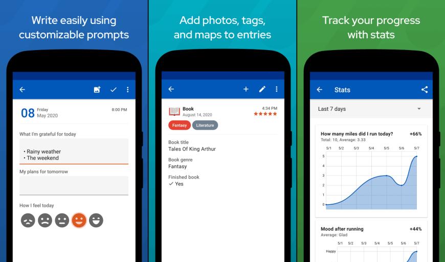 flexible journal app