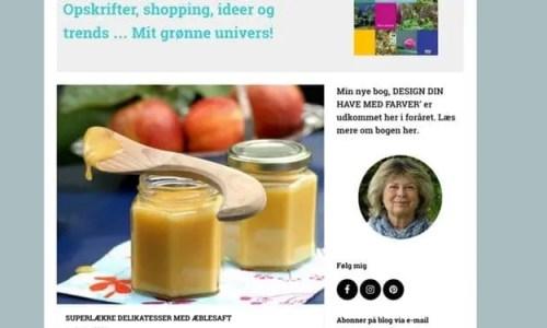 Bedre Web: Nina Ewalds Hjemmeside