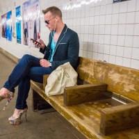 Subway Platform Platform Heels