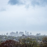 Boston from Tufts University