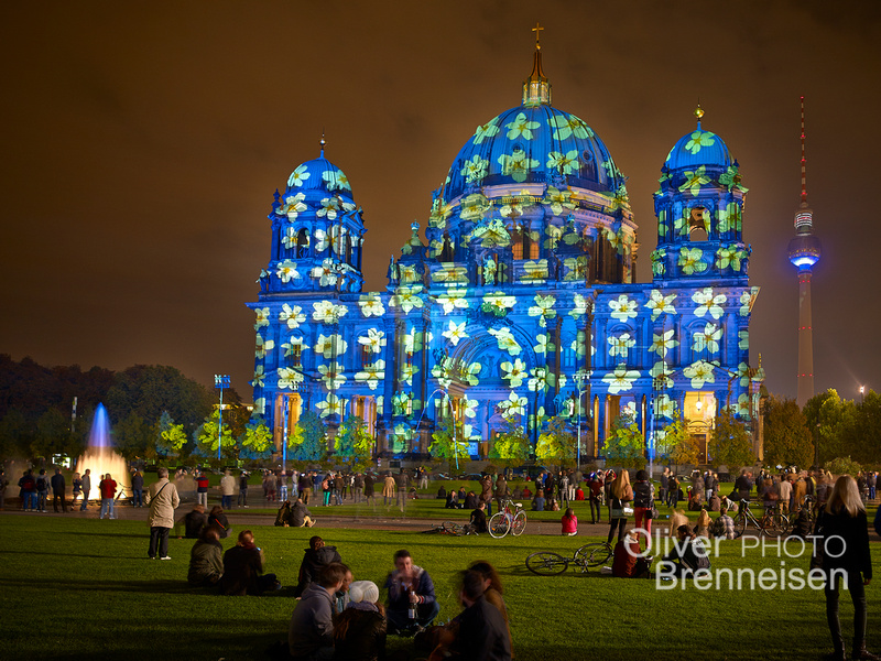Festival of Lights, projection by Oliver Brenneisen