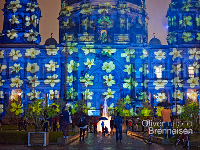 Festival of Lights, projection by photographer Oliver Brenneisen