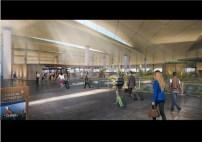 Departure Level Interior