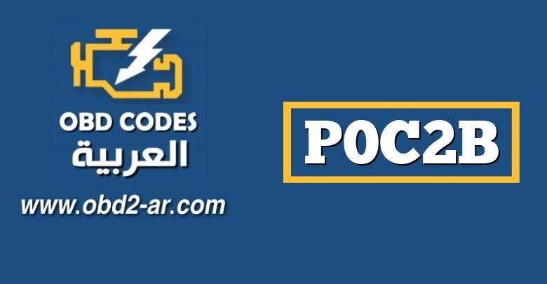 P0C2B – وحدة التحكم في مضخة نقل السوائل المساعدة