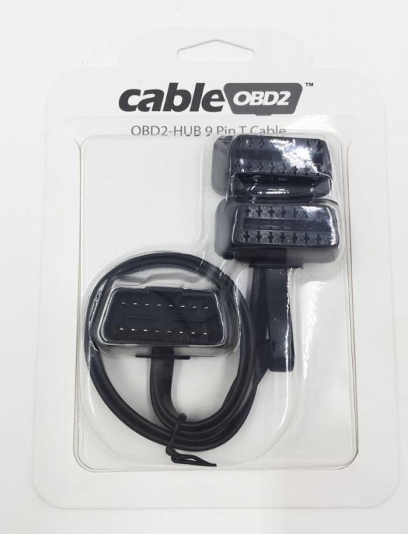 cableOBD2 - OBD2 HUB 9 Pin T Cable